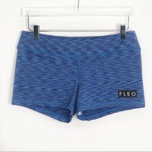 FLEO 3.25 Active Booty Shorts Blue XL